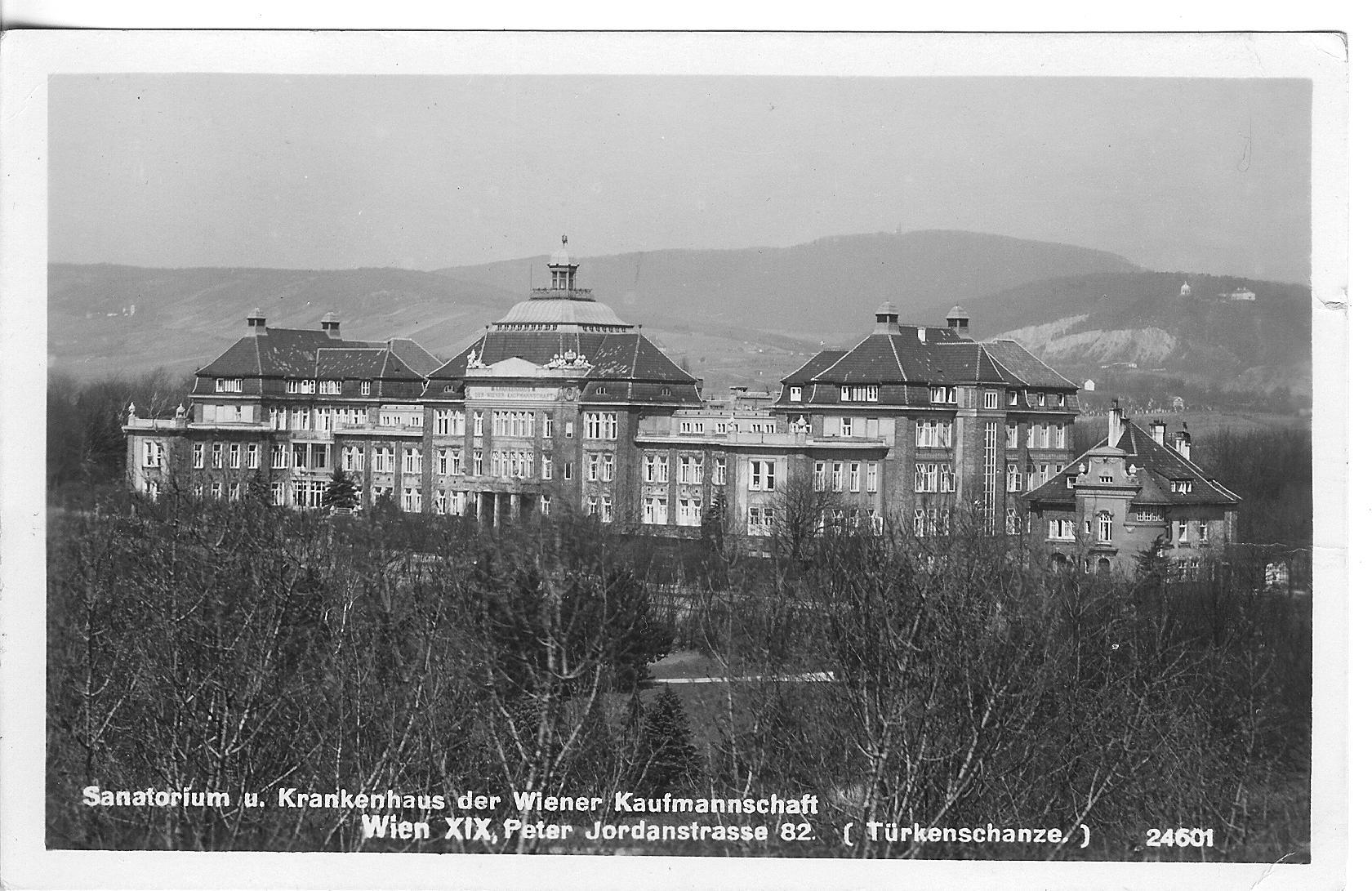 1909: Sanatorium und Krankenhaus