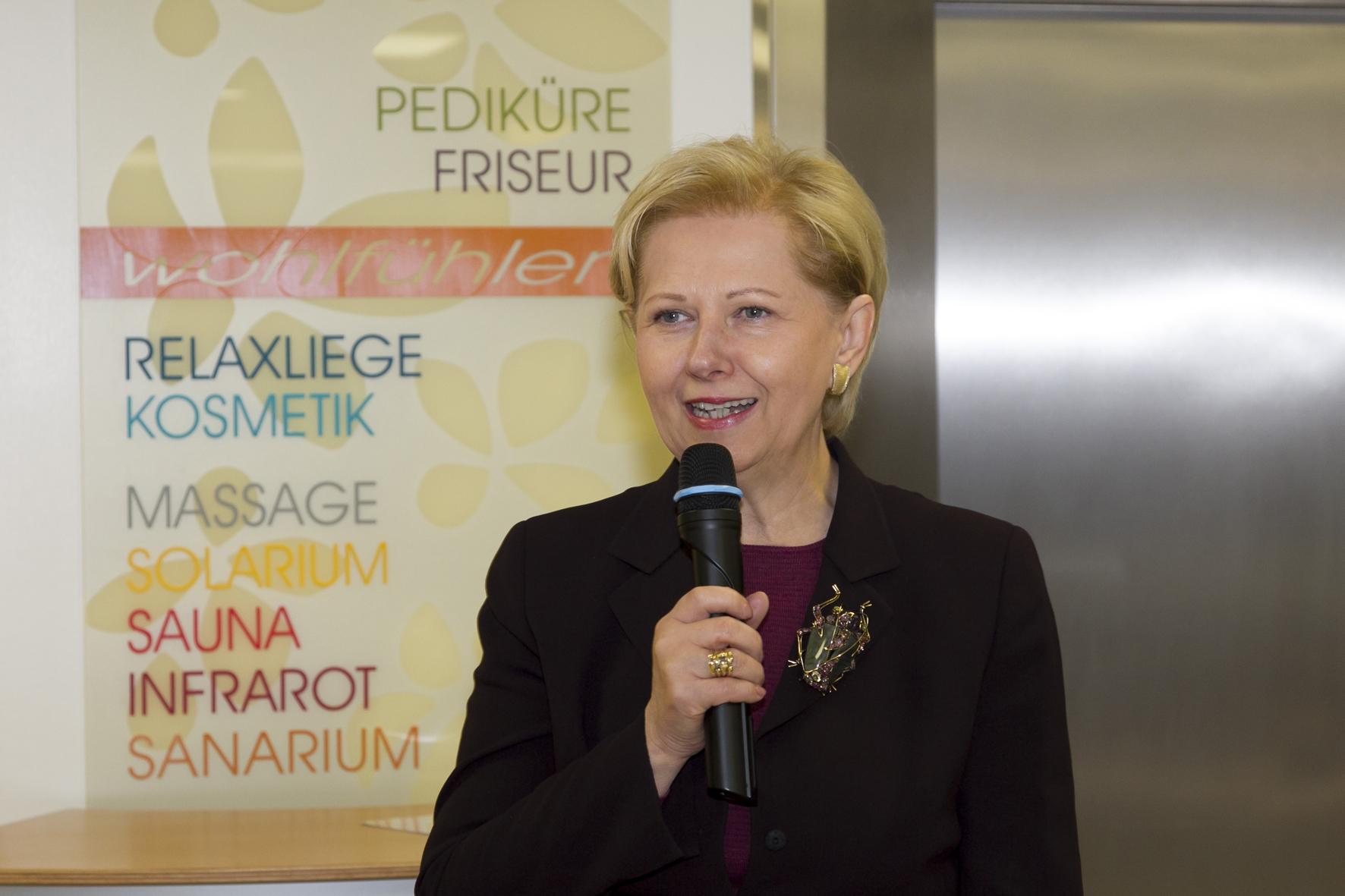 "2012: Eröffnung PRD ""Wohlfühloase"""